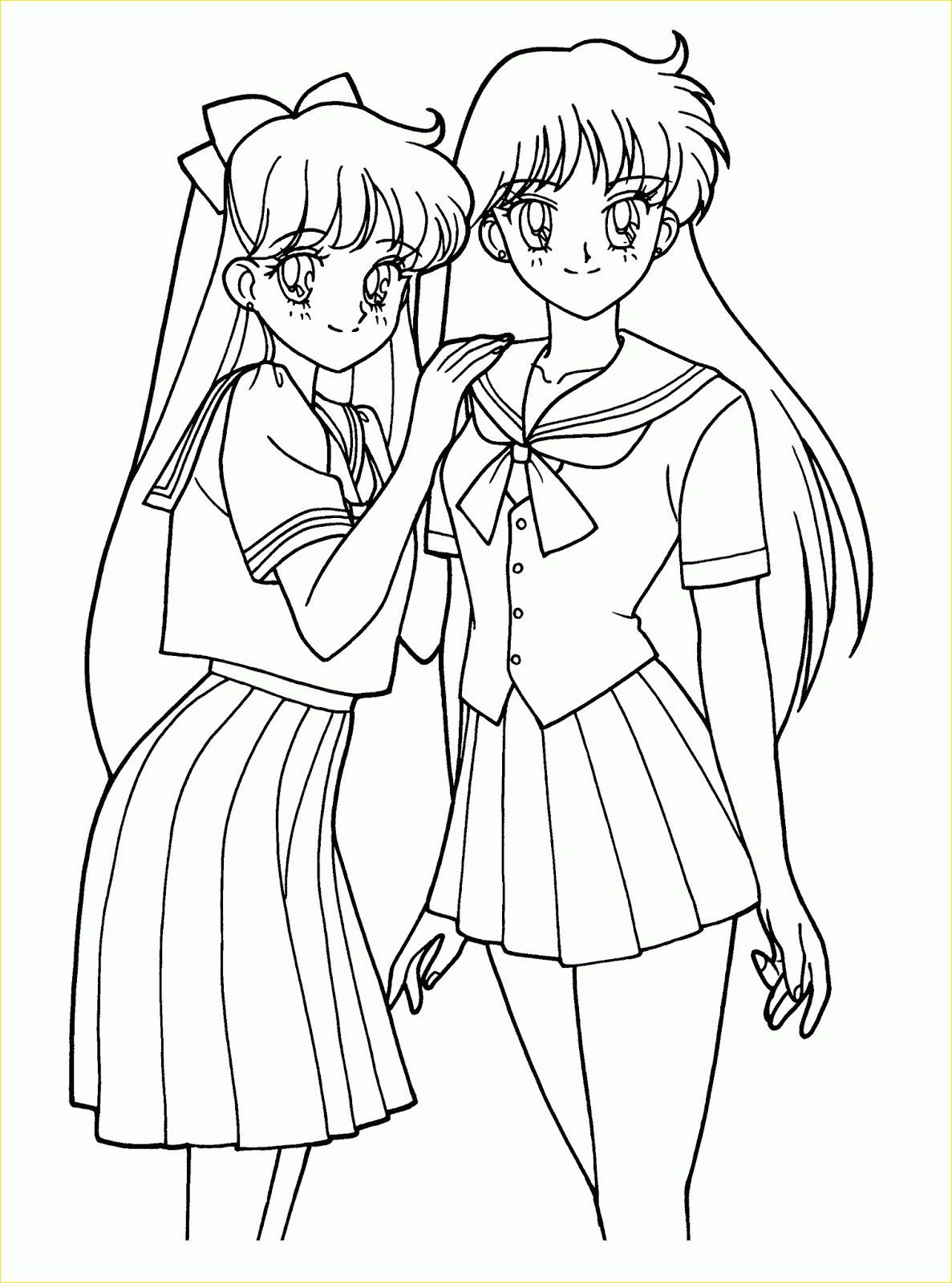 17 Luxury Printable Anime Coloring Pages Photos Sailor Moon Coloring Pages Moon Coloring Pages Coloring Pages For Girls [ 1600 x 1187 Pixel ]