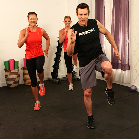 Try This 10-Minute Custom Workout From P90X's Tony Horton! Once in the morning before shower, once after work!
