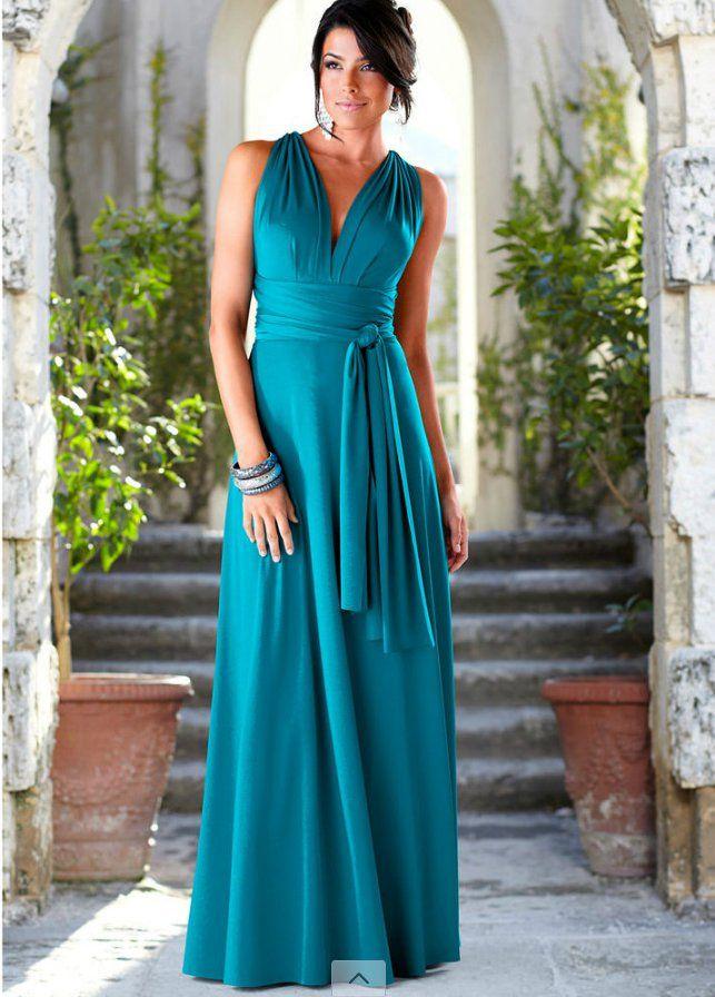 best website 4a98f 15d79 Modelli trendy e low cost per i vestiti lunghi da sera come ...