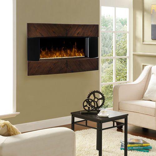 44900 Harrington Wall Mount Electric Fireplace Paul Rustic