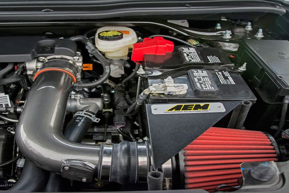 2011 2017 3 5l V6 Ford Explorers Gain An Estimated 7 Horsepower With Aem Cold Air Intake Ford Explorer Cold Air Intake Cold Air