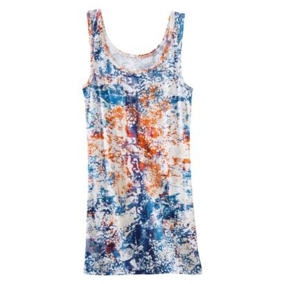 Mossimo Womens Microrib Fashion Tank - Prints
