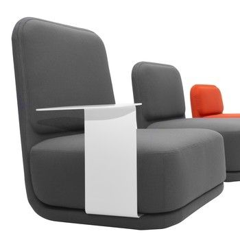 Softline - Standby Sessel medium - beige/Stoff Vision 446