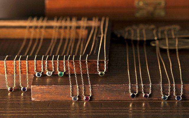 K18 diamond necklace  K18 ネックレス liberty