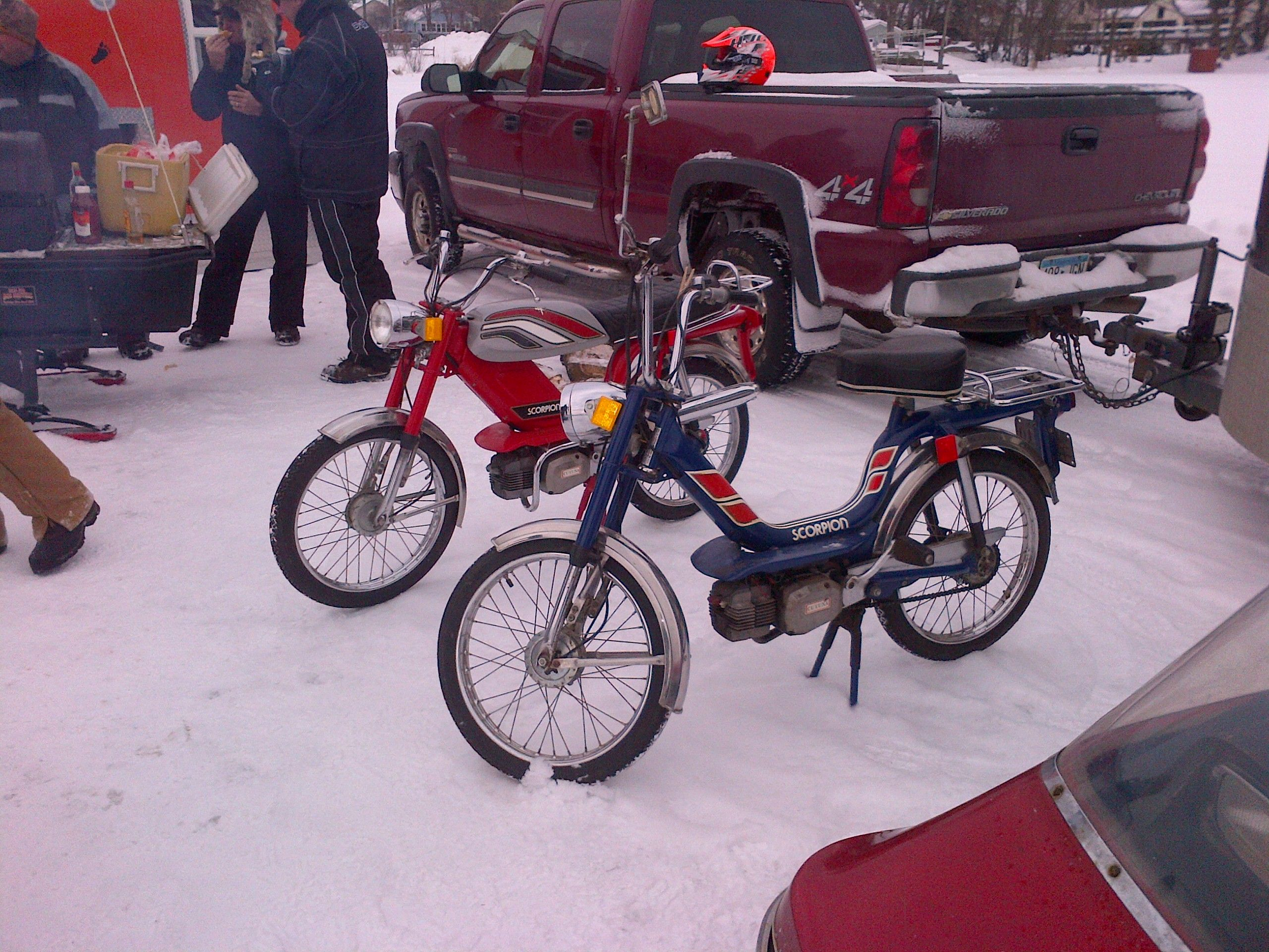 Scorpion Mopeds From The Late 70s Scorpion Snowmobiles Scorpion