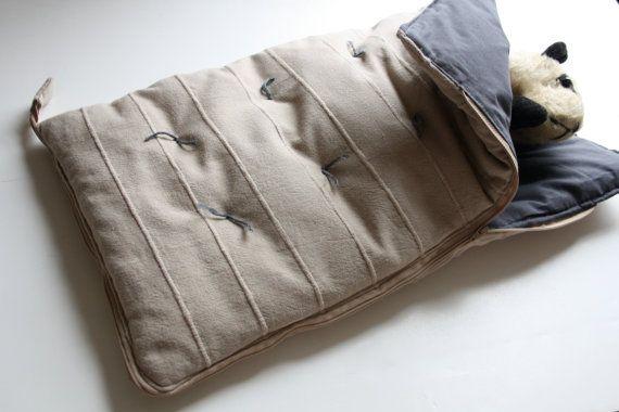 Mini sleeping bag for important bears