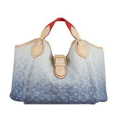 Louis Vuitton Monogram Denim Sunbeam Blue Bags L889