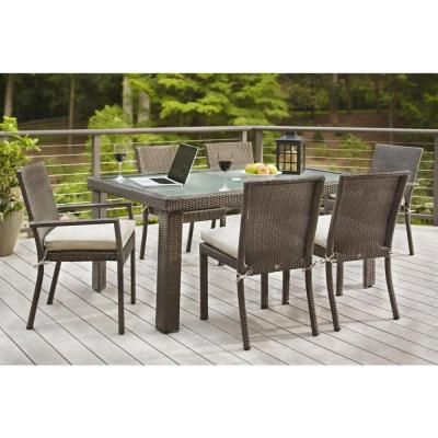 Outdoor Furniture Sets, Solana Bay 7-Piece Patio Dining Set