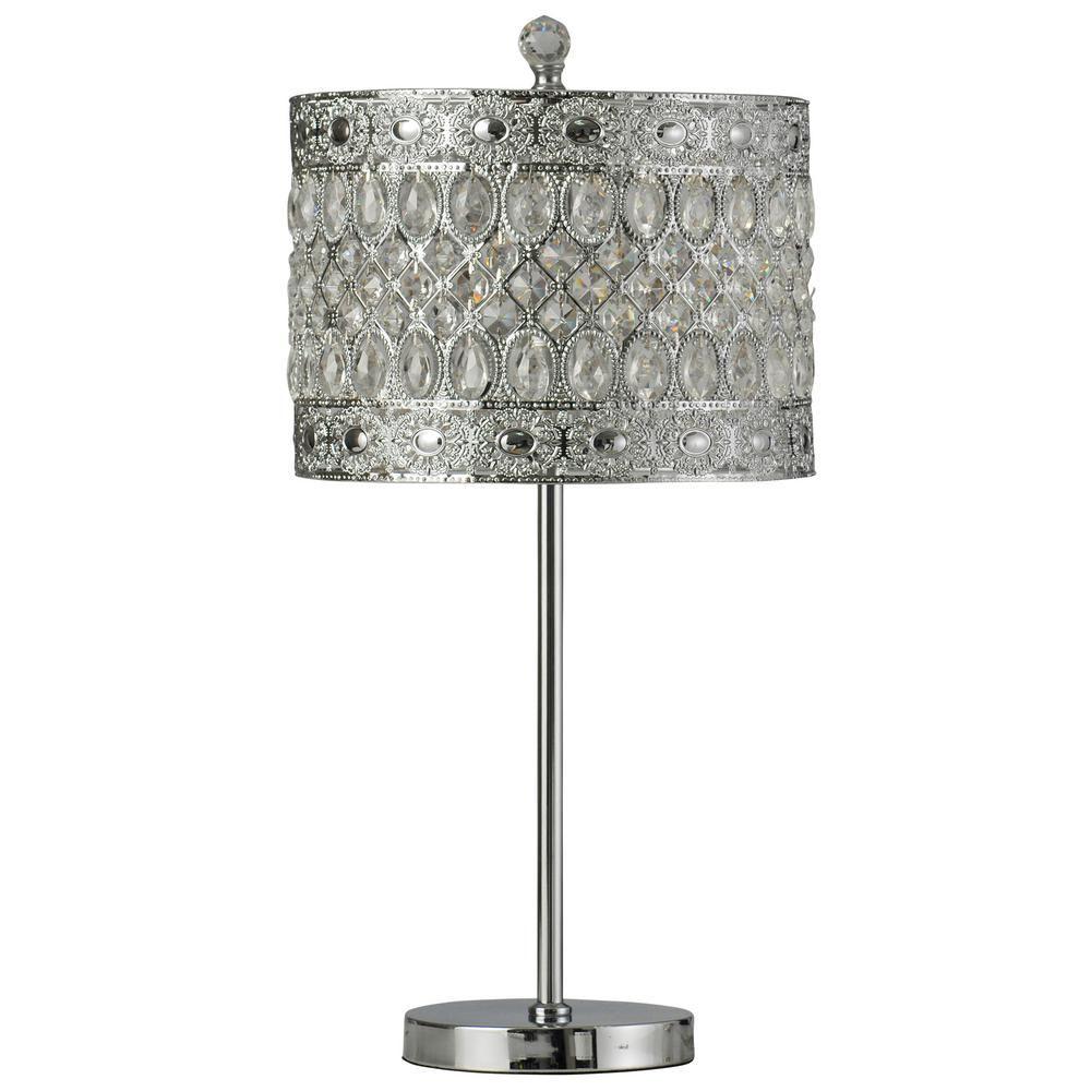 Buffet Lamps   Crystal Lamp Shade