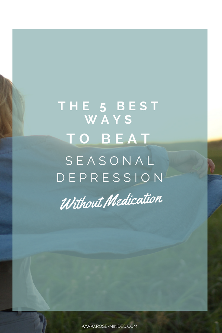 How do you overcome depression without medication