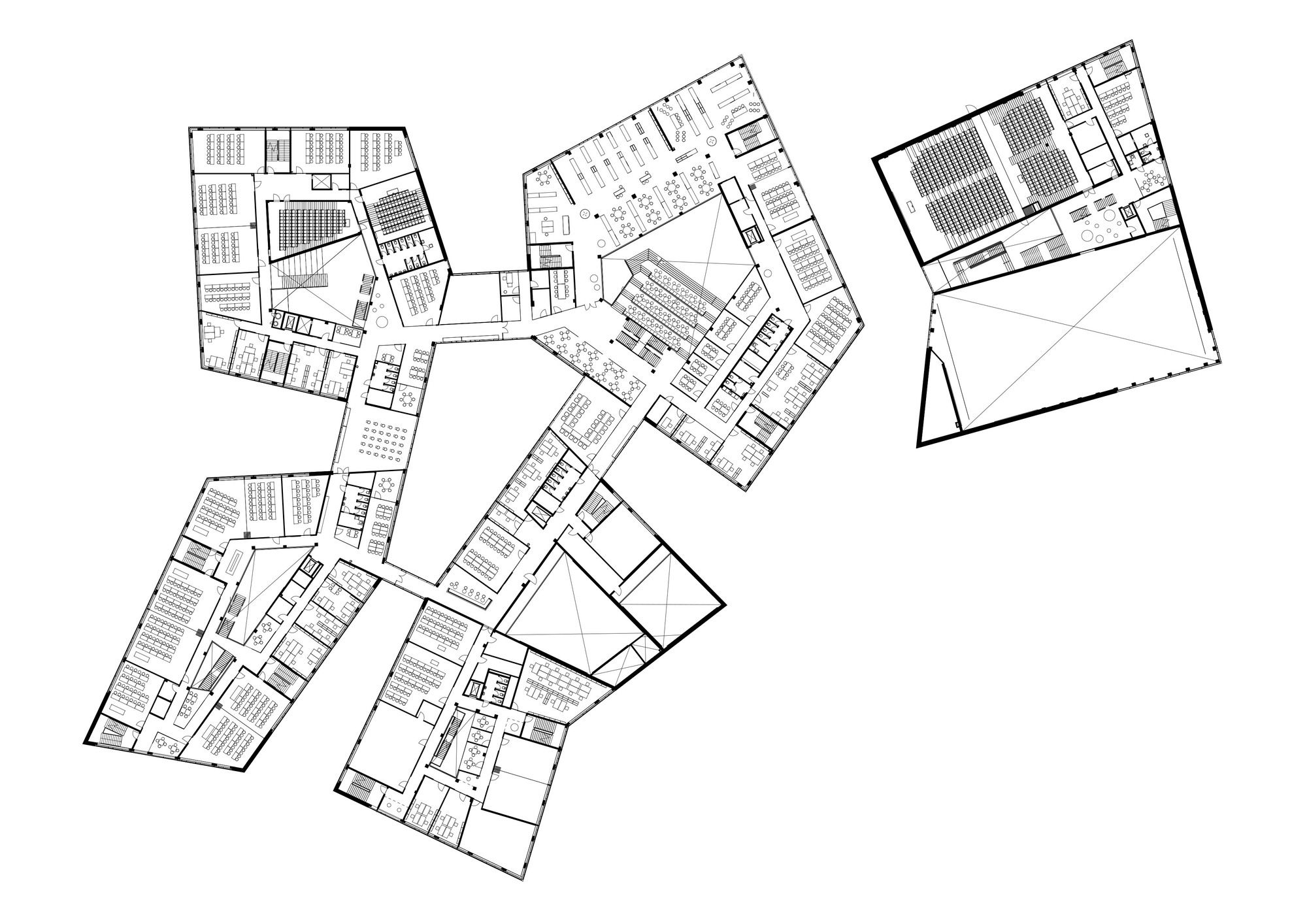 Image 22 of 27 from gallery of via university college aarhus city arkitema architects floor plan