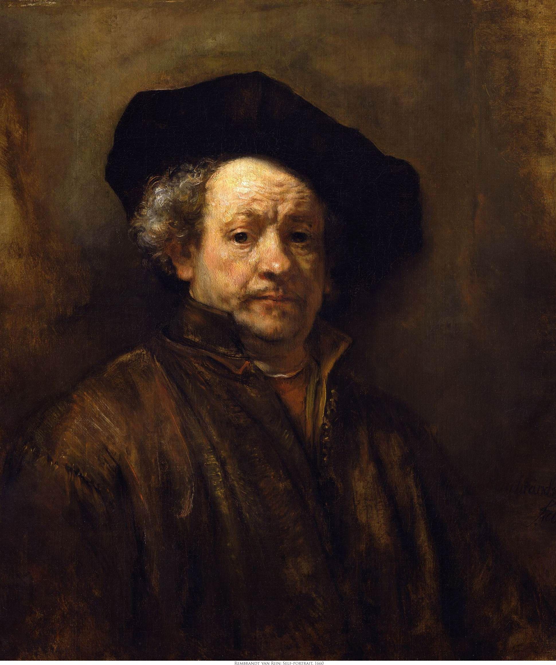 Rembrandt Van Rijn - most famous painters