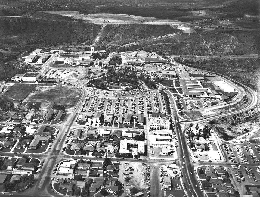 San Diego State College Circa 1955 San Diego San Diego State University San Deigo