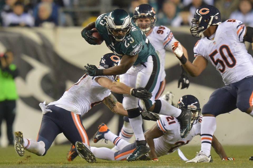 Philadelphia 2013 Bears Eagles Football Vs