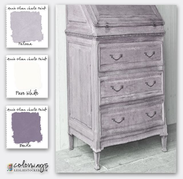 Beste Shades of Lavender   Annie sloan colors, Painted furniture JP-69