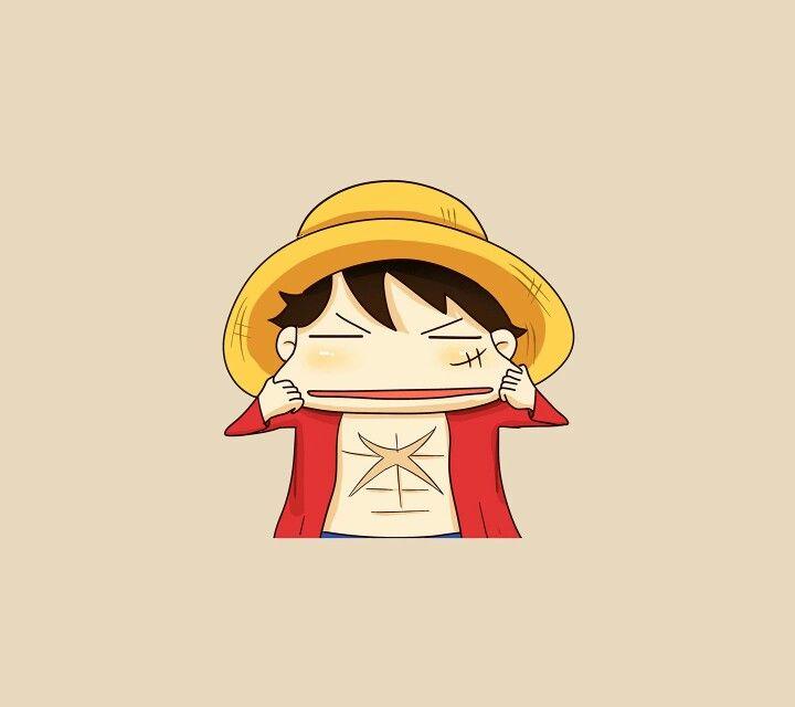 Onepiece Anime Luffy Manga Chibi Cute Hat One Piece Luffy Luffy Chibi