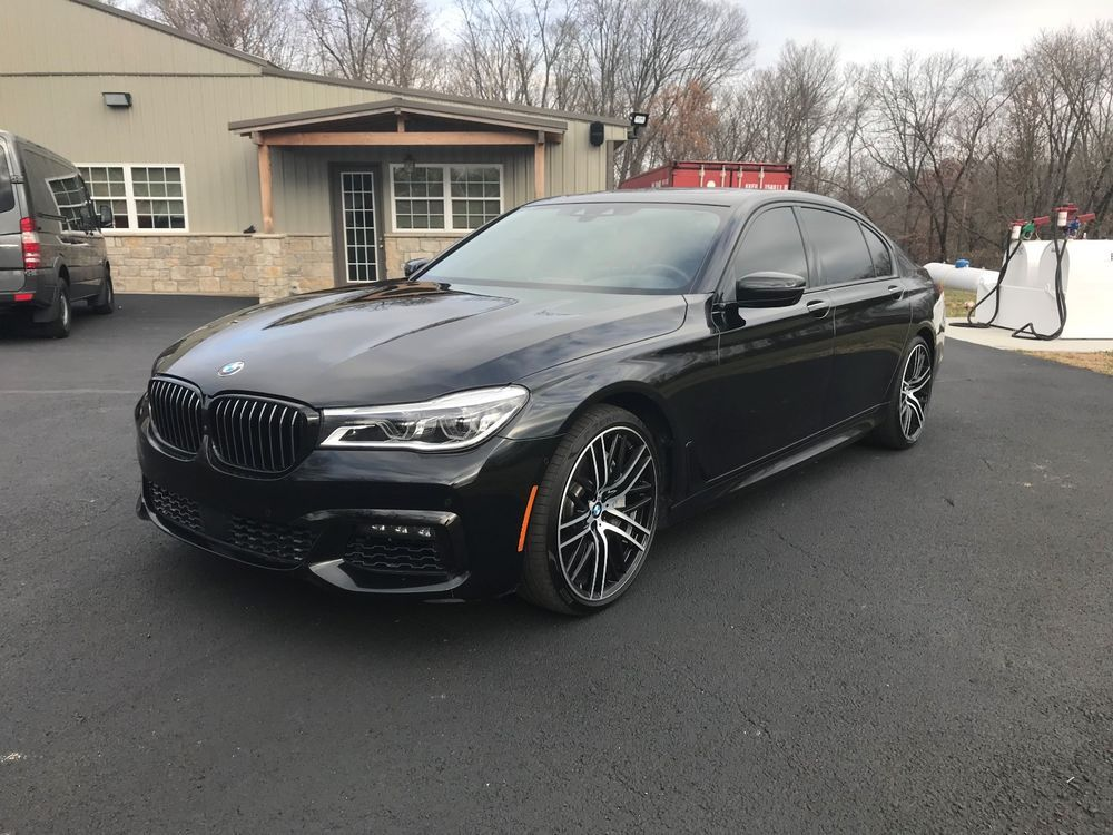 2017 Bmw 7 Series 750i Xdrive With Remote Control Parking And M Spor Sport Pack