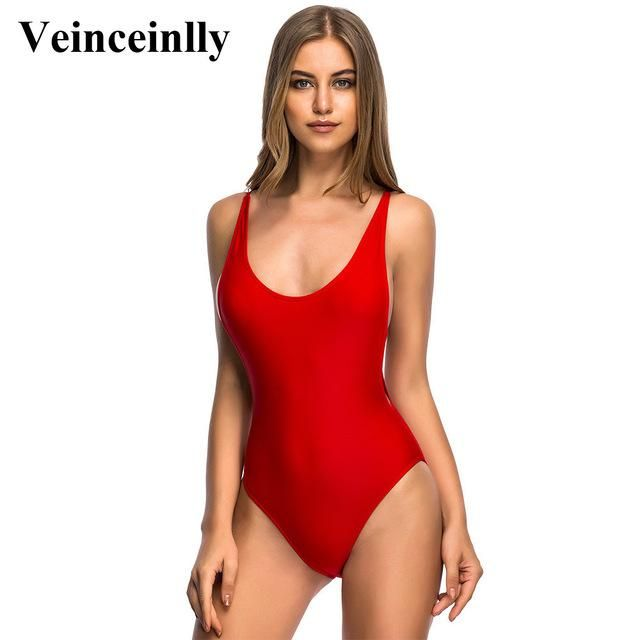 956d5eed66 Tummy cut out cross Sexy high cut leg 1 one piece swimsuit Backless female  Swimwear Women Bathing suit swim wear Monokini V110