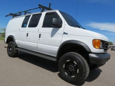 Find Used 2006 Ford E350 Quigley 4x4 Van Diesel Beauty Loaded