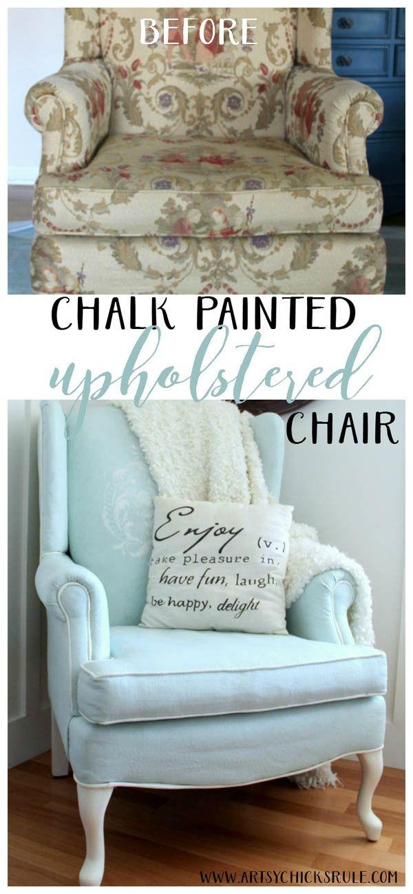 Recuperar silla con chalk paint