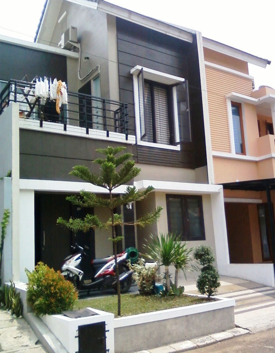 Desain Rumah Minimalis 2 Lantai Type 36 Tampak Depan Desain Rumah Desain Rumah
