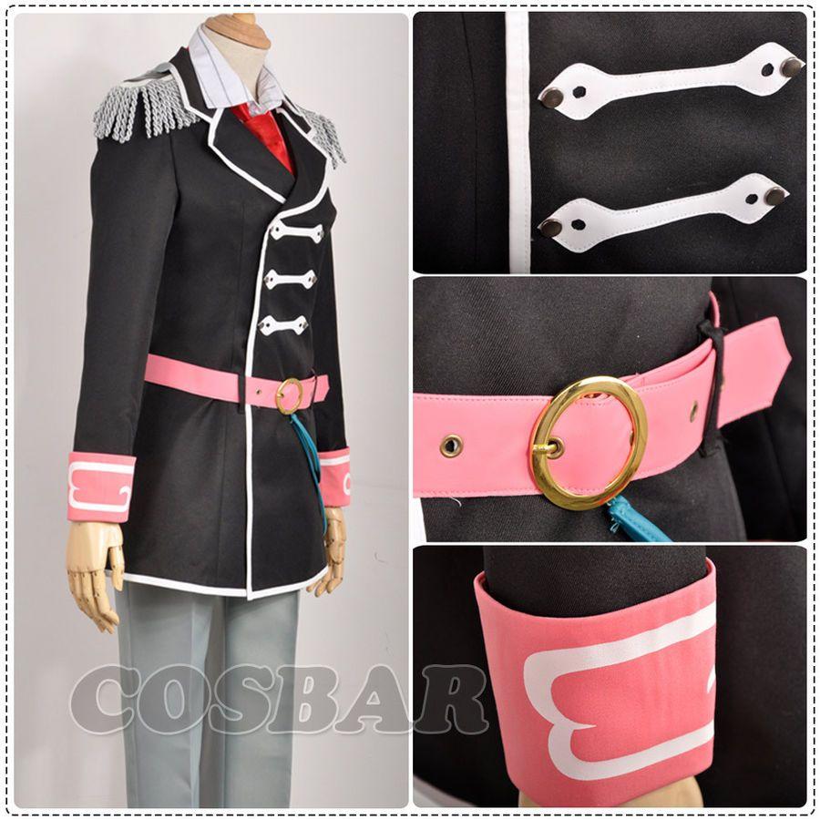 IDOLiSH 7 Trigger Kujyou Ten Academy Outfit Uniform Halloween Cosplay Costume