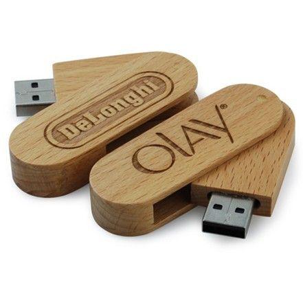 1 Personalized 8GB USB Drive Custom Thumb Drives Engraved Zip Drive Wooden USB Drives Bamboo Zip Drives