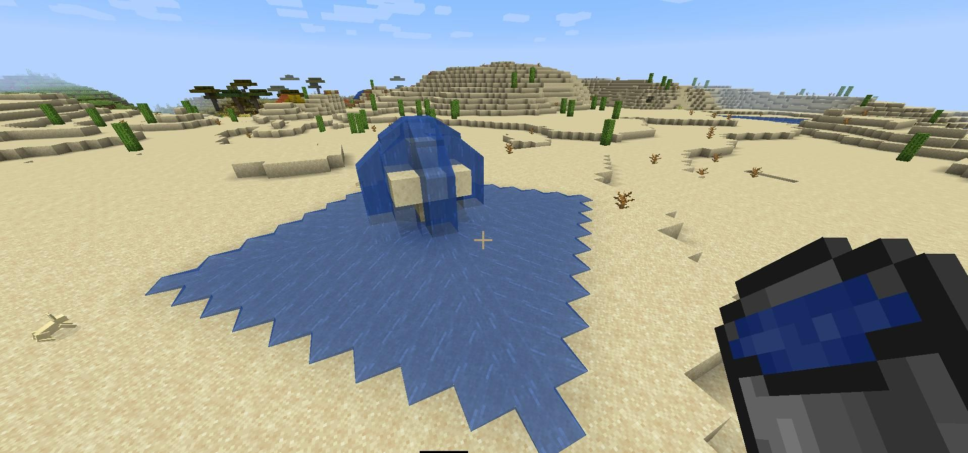 How Far Does Water Flow In Minecraft Water Flow Moving Water Water Sources