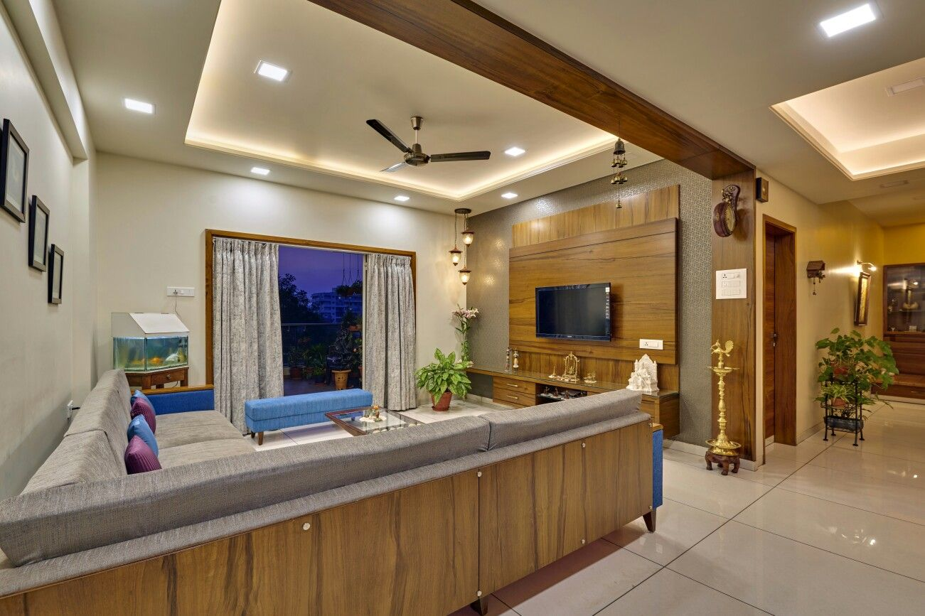 Pin by Nidhi Karan on Living room | Indian living rooms ...