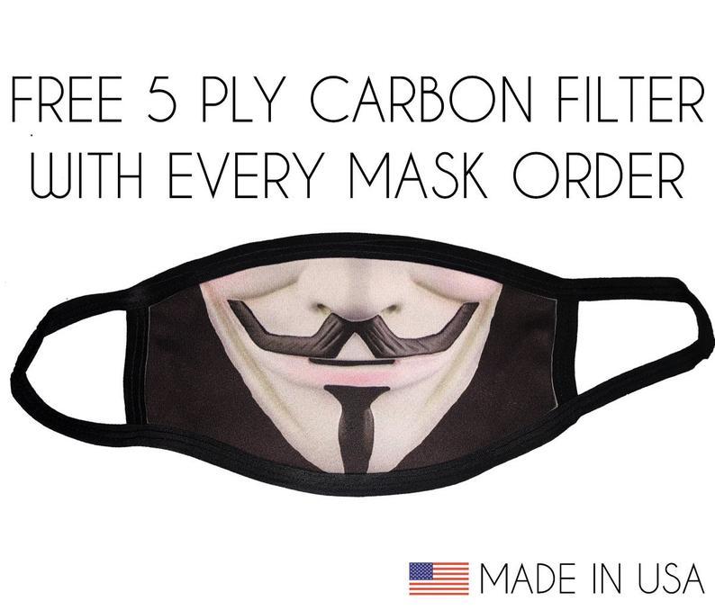 Pin On Mask V