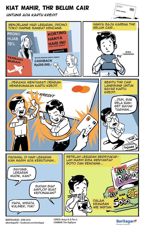 Thr Itu Nanti Belanjanya Mulai Kini Komik Kartun Buku