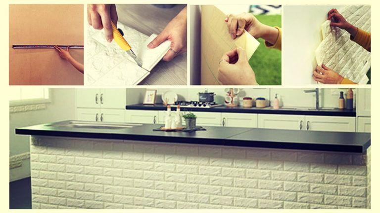 Esempi Colori Pareti Casa.Decorare Le Pareti Di Casa Con Le Tavole Adesive 3d Ecco 18