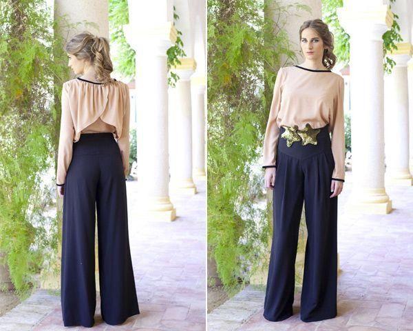 e353420bd3 Los pantalones palazzo son para las bodas. Aprende a llevarlos con clase  gracias a este inspirador post.