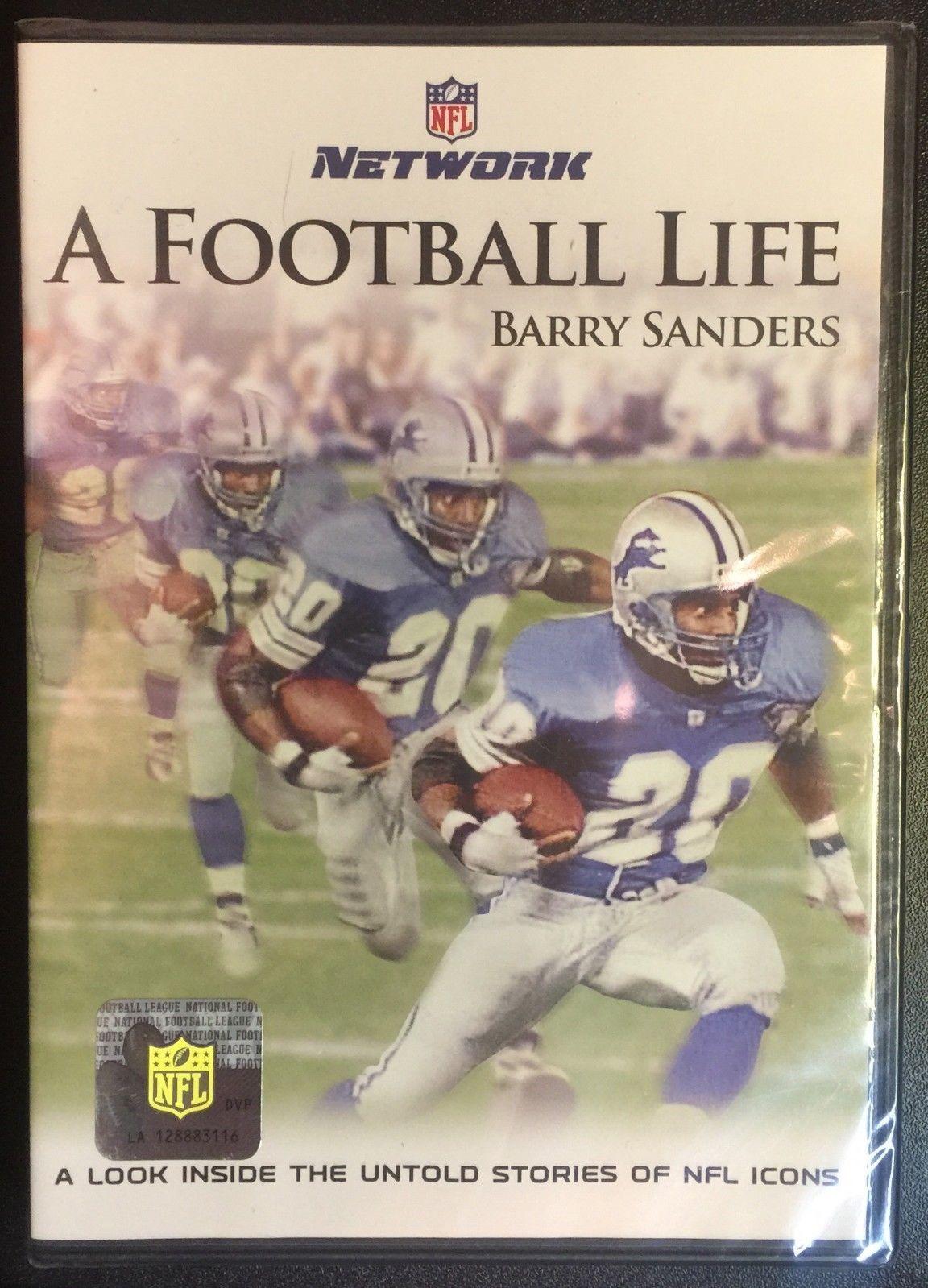 New NFL Network A Football Life Barry Sanders DVD Nfl