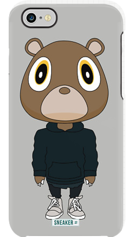 Yeezy Bear By Sneaker St Uncommon Iphone 6 Clear Deflector Yeezy Iphone Cases Iphone