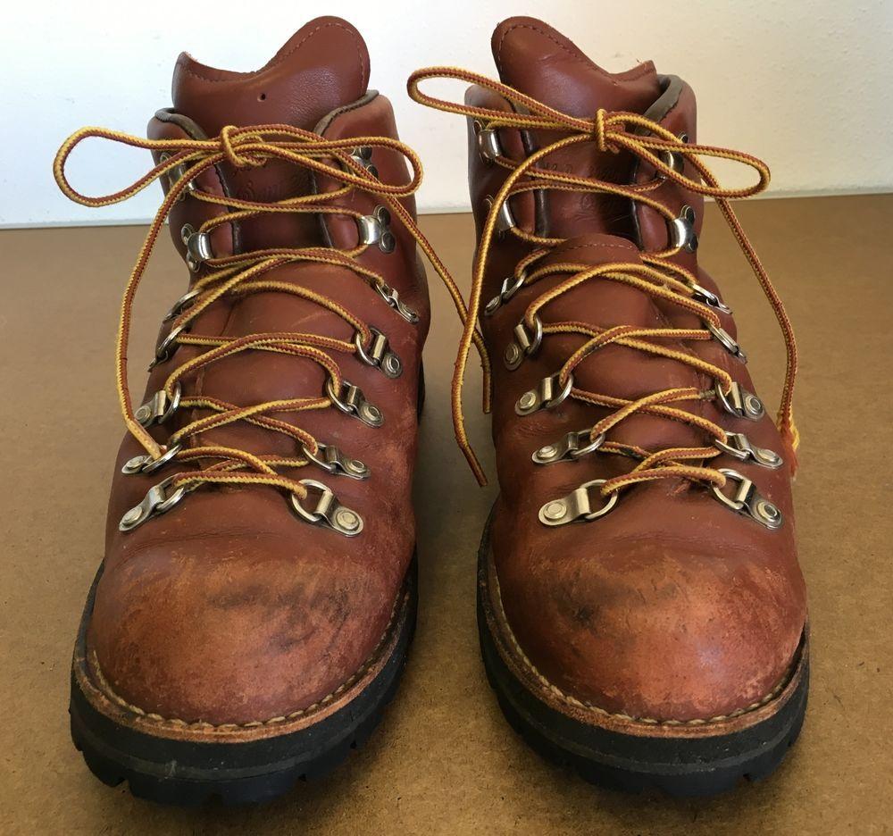 09478b8f478 Details about DANNER Boots Men's Size 9.5 D 9 1/2 Work Vintage GORE ...