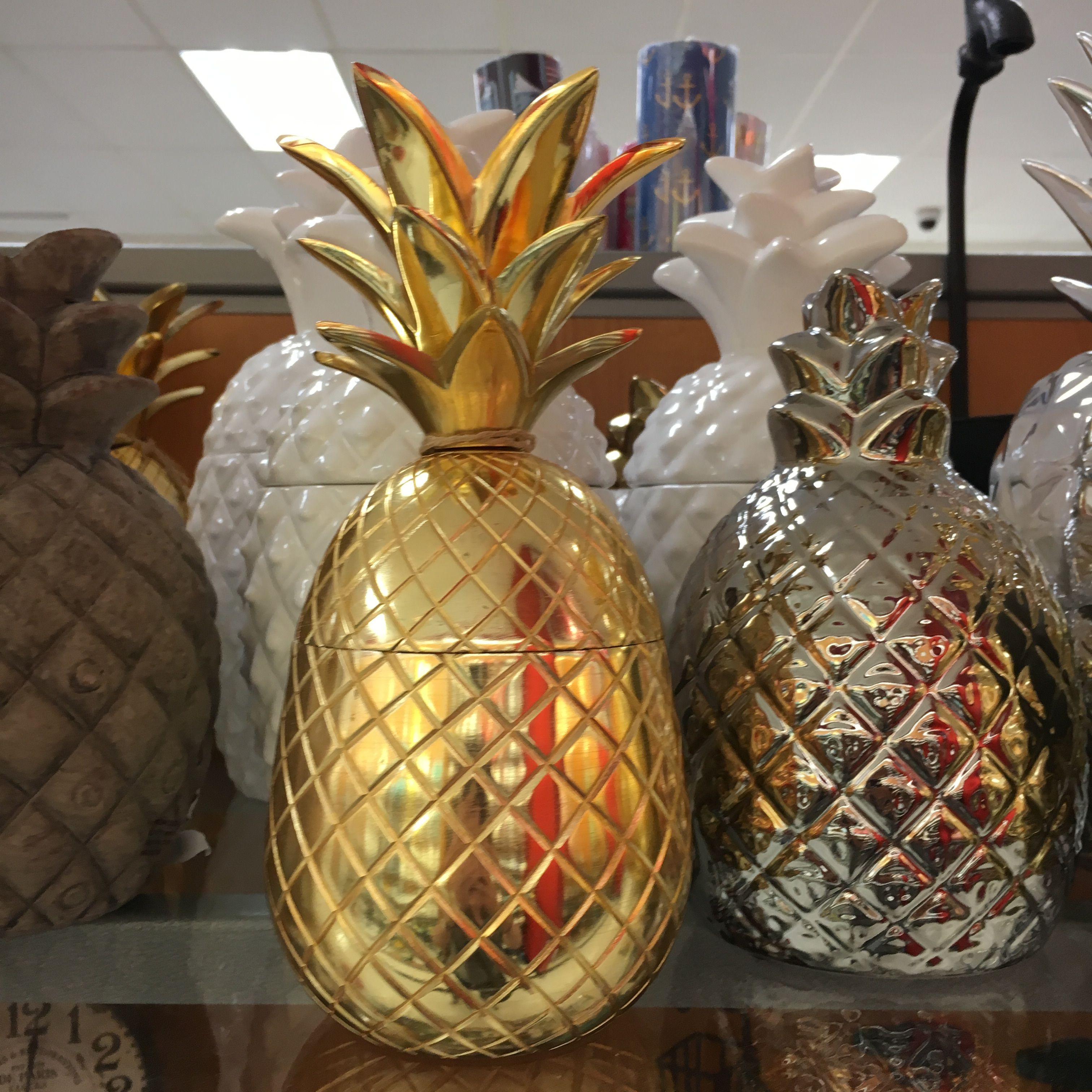 Pineapples at TJ Maxx.   Pineapple Obsession   Pinterest