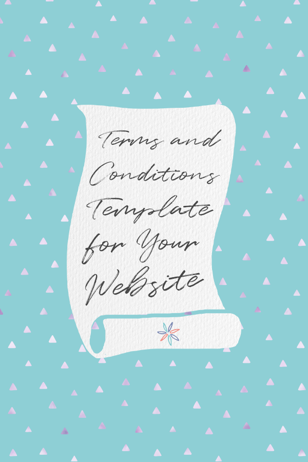 A terms and conditions page is a legal agreement between