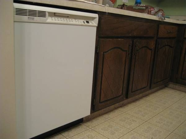 How to install a dishwasher in existing cabinets | DIY for the ...