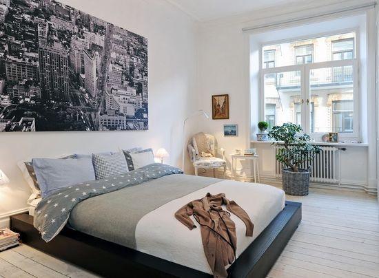 маленькая спальня в скандинавском стиле - Поиск в Google