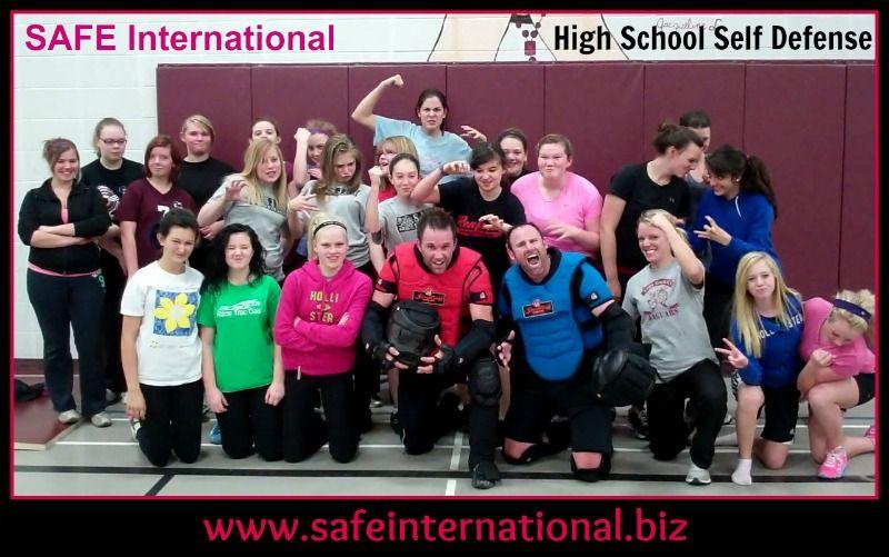 SAFE International High School Self Defense