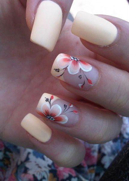 Fiori Unghie.Lovely Summer Nail Art Ideas Nail Art Summer Diy Nail Designs