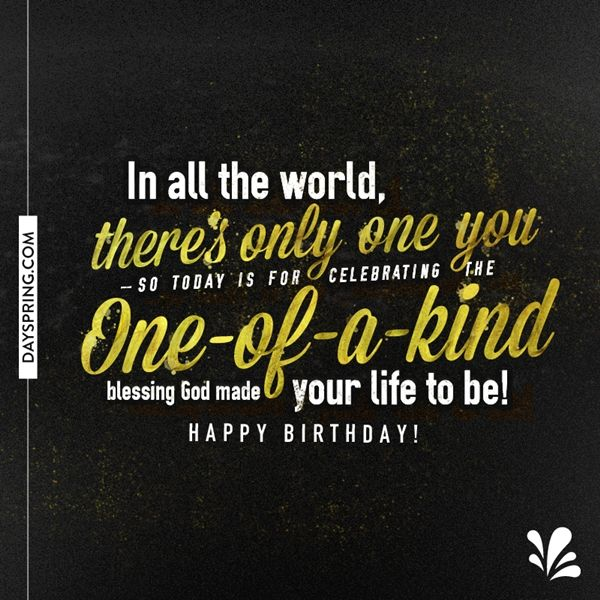 One Of A Kind Friend Quotes: Birthday Wishes, Birthday