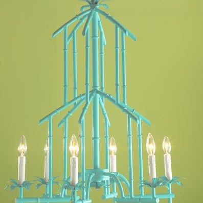 Faux bamboo chandeliers from chinoiserie chic rattanbamboo faux bamboo chandeliers from chinoiserie chic aloadofball Image collections