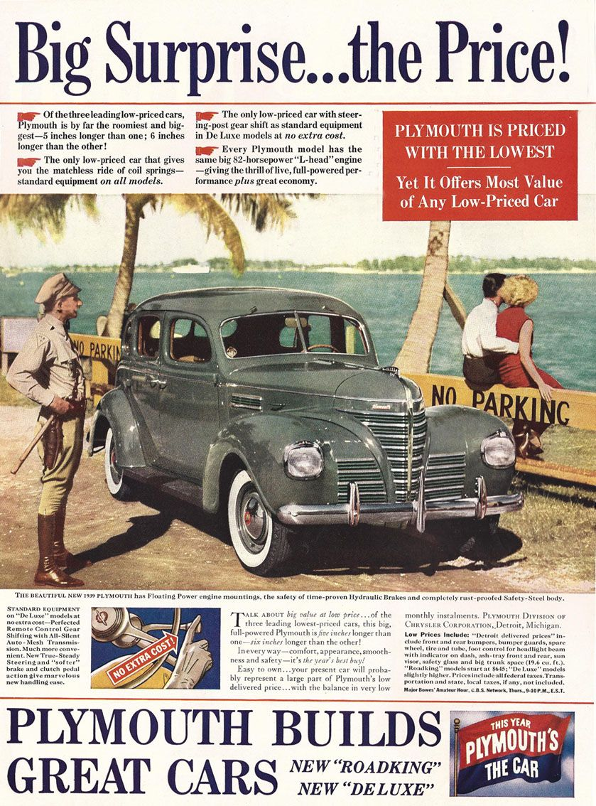 1939 plymouth plymouth car brochures rh pinterest it
