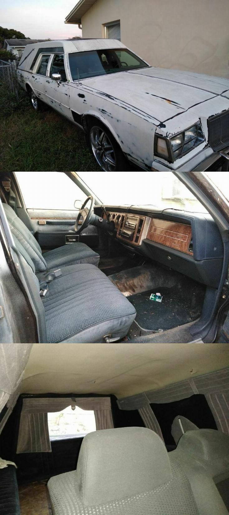needs tlc 1988 buick lesabre hearse [ 735 x 1653 Pixel ]
