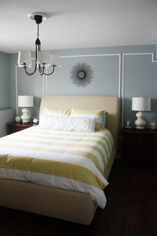 Minimalist Behr Frozen Pond gray blue paint color Beautiful -  Blue and Grey Bedroom New Design