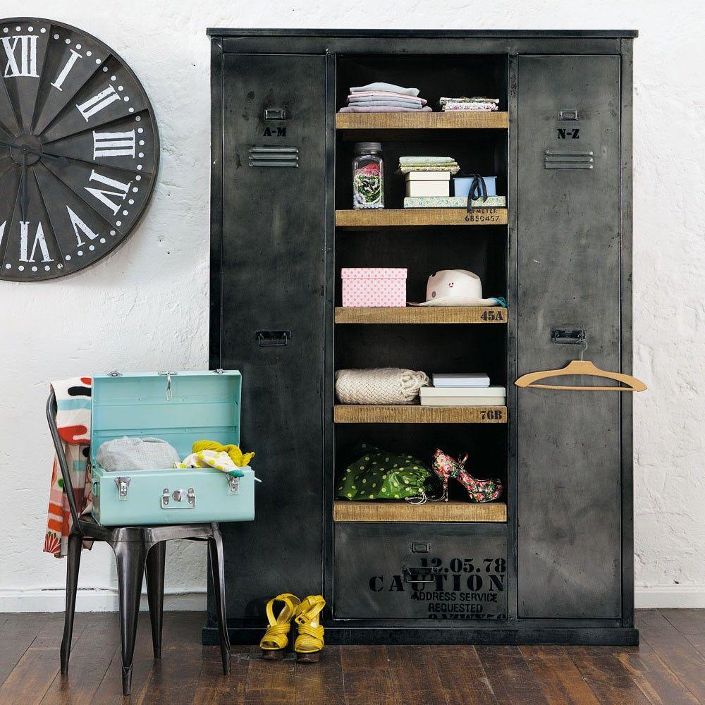 Maisons du Monde revisite le mobilier industriel en proposant une ...