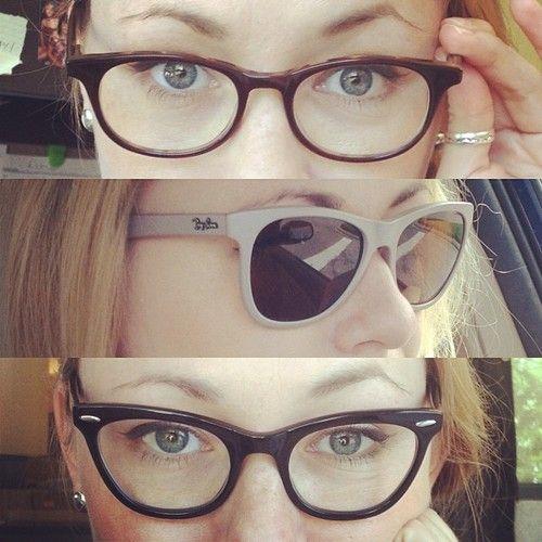 cb7173539804 'All new prescription glasses. #gettingold #chocolatemilkraybans #zenni'