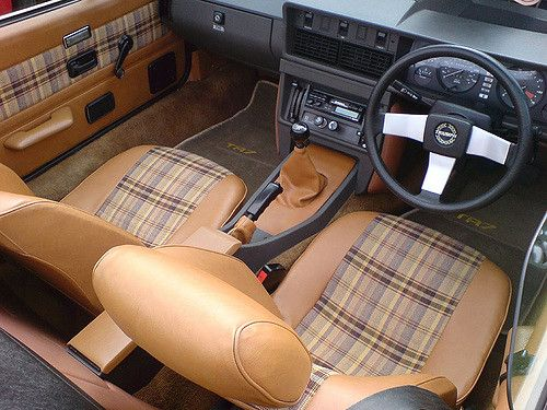 The UK spec TR7 interior (only if you lived through the
